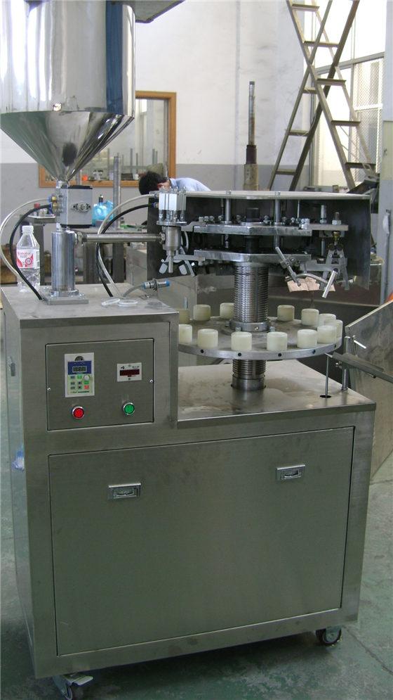 铝管灌装封尾机(半自动)